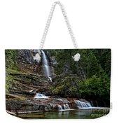 Virginia Falls In The Pool Weekender Tote Bag