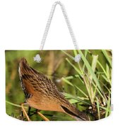 Virginia Rail Weekender Tote Bag