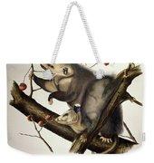 Virginian Opossum Weekender Tote Bag by John James Audubon