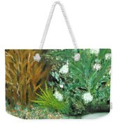 Virginia's Garden Weekender Tote Bag