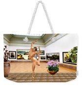 Virtual Exhibition - Dacanvasncing Girl Weekender Tote Bag