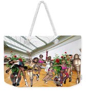 Virtual Exhibition - Dance Of Opening The Exhibition Weekender Tote Bag