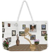 Virtual Exhibition - Statue Of Bonsai 1 Weekender Tote Bag