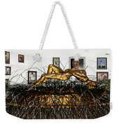Virtual Exhibition With Birthday Cake Weekender Tote Bag