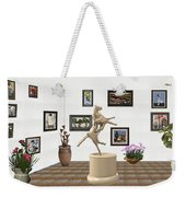 Virtual Exhibition_statue Of A Horse Weekender Tote Bag