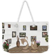 virtual exhibition_Statue of swans 22 Weekender Tote Bag
