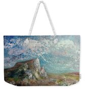 Virtual Mountain Weekender Tote Bag