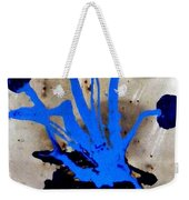 Virtually Blue Weekender Tote Bag