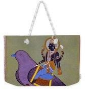 Vishnu On A Bird Weekender Tote Bag