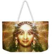 Vision Of The Goddess - Light Weekender Tote Bag