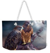 Vision Of The Hawk Weekender Tote Bag