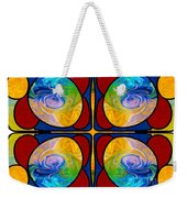 Visions Of Bliss And Abstract Artwork By Omaste Witkowski Weekender Tote Bag