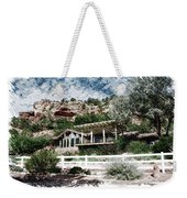 Visitor Center Best Friends Animal Sanctuary Angel Canyon Knob Utah Pa 01 Weekender Tote Bag