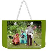 Visitors At A Fairy Blessing Weekender Tote Bag