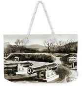 Visitors Welcome Bw Weekender Tote Bag
