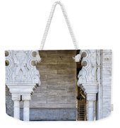 Vistors At The Mausoleum  Weekender Tote Bag