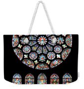Vitraux - Cathedrale De Chartres - France Weekender Tote Bag