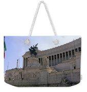Vittorio Emanuele II Monument Weekender Tote Bag