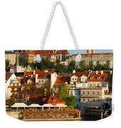 Vitus Cathedral Over Vltava  Weekender Tote Bag