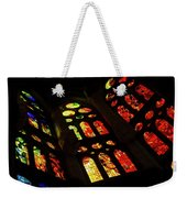 Vivacious Stained Glass Windows Weekender Tote Bag