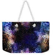 Vivid Abstract Weekender Tote Bag