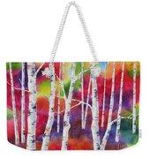 Vivid Autumn Weekender Tote Bag
