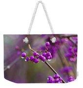 Vivid Beauty Berries Weekender Tote Bag