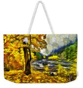 Vivid Pipeline Trail Weekender Tote Bag
