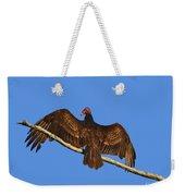 Vivid Vulture .png Weekender Tote Bag