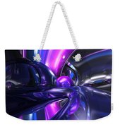 Vivid Waves Abstract Weekender Tote Bag