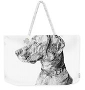 Vizlsa Dog Weekender Tote Bag