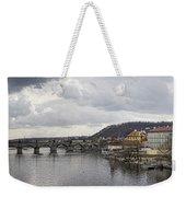 Vltava River Scene Weekender Tote Bag