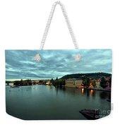Vltava View 2 Weekender Tote Bag by Madeline Ellis