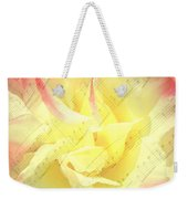 Voice Of The Heart A Rose Portrait Weekender Tote Bag