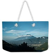 Volcan De Agua Antiqua Gutemala 3 Weekender Tote Bag