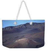 Volcanic Cinder Cones In Haleakala Weekender Tote Bag