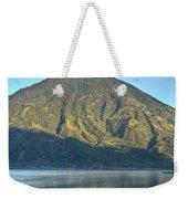 Volcano And Reflection Lake Atitlan Guatemala 3 Weekender Tote Bag