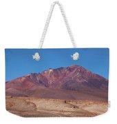 Volcano Crater In Eduardo Avaroa Nr Weekender Tote Bag