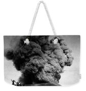 Volcano: Java, 1910 Weekender Tote Bag