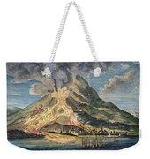 Volcano: Mt. Etna Weekender Tote Bag