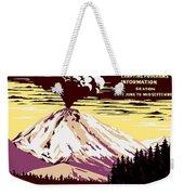 Volcano Weekender Tote Bag