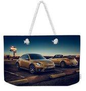 Volkswagen Beetle Dune 4k 2 Weekender Tote Bag