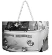 Volkswagen Westfalia Camper Weekender Tote Bag by Stefano Senise