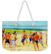 Volleyball At Gordons Pond Weekender Tote Bag