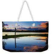 Volleyball Sunset Weekender Tote Bag
