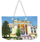 Volusia County Court House Yellow Weekender Tote Bag