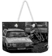 Volvo And Trailer Weekender Tote Bag