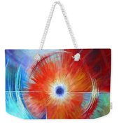 Vortex Weekender Tote Bag by James Christopher Hill