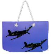 Vought F-4u Corsairs Weekender Tote Bag