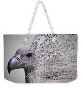 Vulture Break Up Weekender Tote Bag